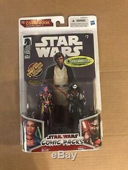 Dark Horse Star Wars Comic Packs 16 Star Wars # 7 Deliah Blue & Darth Nihl MOC