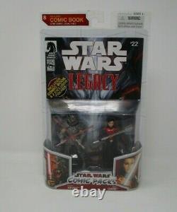 Darth Krayt & Sigel Dare STAR WARS Legacy Comic Packs Pack MOC #22 8