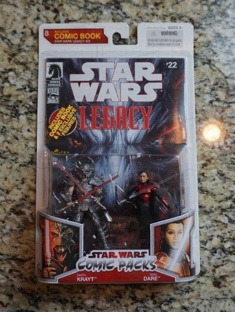 Darth Krayt Sigel Dare Star Wars Saga Moc Comic Pack Packs #22 #8