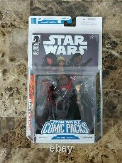 Darth Talon Cade Skywalker STAR WARS Legacy Collection Comic Packs MOC #2