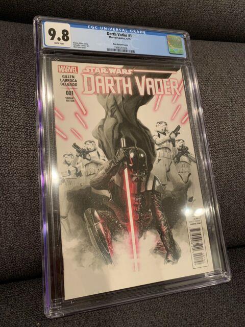 Darth Vader #1 (marvel 2015) Alex Ross Variant Cgc 9.8 Star Wars
