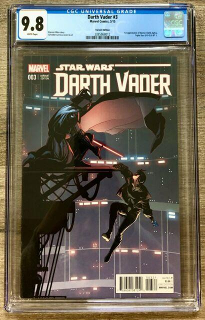 Darth Vader #3 Cgc 9.8 Larroca Variant, 1st Doctor Aphra App, Nm/mt, Marvel