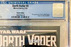 Darth Vader #3 CGC 9.8 Variant 1st Aphra++Disney