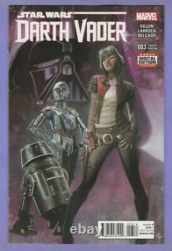 Darth Vader 3 Fourth Printing variant 1st appearance Doctor Aphra 0-0-0 BT-1 4th
