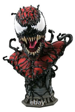 Diamond Select Marvel Legends in 3D Carnage 1/2 Scale Bust Ltd to 1000