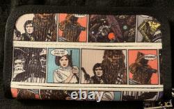 Disney Harveys Seatbelt Bags Star Wars Comic Classic Long Wallet NWT