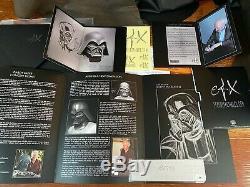 EFX Star Wars Ralph Mcquarrie Darth Vader Helmet Signature Edition 138/250-NEW