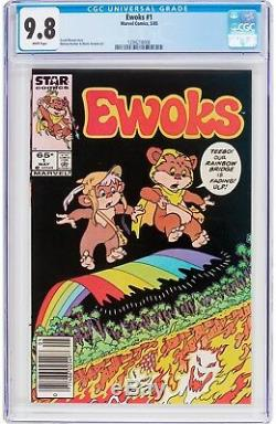 Ewoks #1 CGC 9.8 Marvel 1985 Hard to Find! Star Comics! Star Wars! G9 126 cm