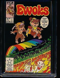 Ewoks # 1 CGC 9.8 WHITE Pgs
