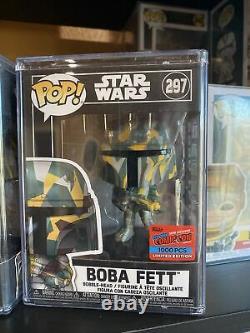 FUNKO POP! Star Wars #297 Boba Fett Futura NYCC Comic Con Sticker