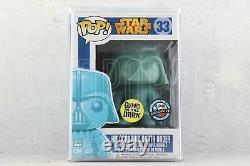 Funko POP Star Wars Holographic Darth Vader Glow in the Dark Dallas Comic Con 33