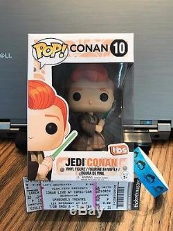 Funko Pop 2017 SDCC Comic Con Exclusive Star Wars Jedi Conan Obi Wan In Hand