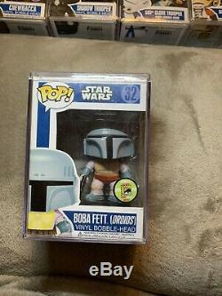 Funko Pop Exclusive Star Wars Boba Fett Droids 2013 SDCC San Diego Comic Con