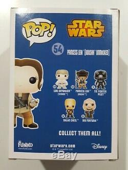 Funko Pop Star Wars 54 Princess Leia Boushh unmasked SDCC Comic Con 2015