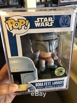 Funko Pop Star Wars Boba Fett Droids SDCC San Diego Comic Con 480/pcs Rare