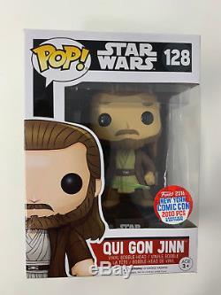 Funko Pop Star Wars Qui Gon Jinn Pop NYCC Exclusive New York Comic Con 2016 F321