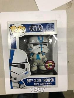 Funko Pop Vinyl Star Wars 501st Clone Trooper #25 SDCC Comic Con Exclusive 480pc