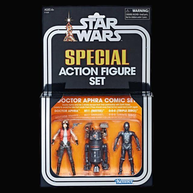 Galactic Sdcc 2018 Exclusive Hasbro Star Wars Tvc Dr. Aphra Comic Figure Set