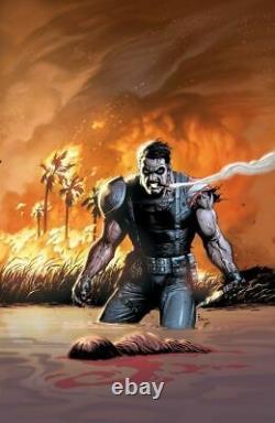 Gary Frank Before Watchmen Comedian #5 Cover Original Comic Art Doomsday Clock