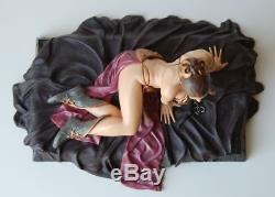 Gentle Giant Princess Leia as Jabba's Slave Deluxe Statue Star Wars (RARE!)