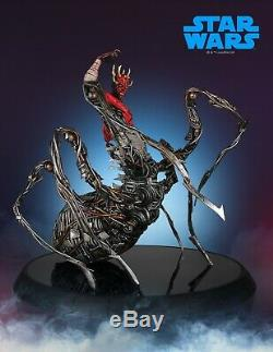 Gentle Giant Star Wars Celebration Exclusive DARTH MAUL with MECHA LEGS Statue