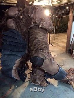 Giant 7ft Tall Rancor Star Wars Replica Life Size Rare Cosplay Comic Con Costume