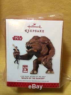 Hallmark 2013 Wrath Of The Rancor Sdcc Nycc Comic Con Star Wars Rotj