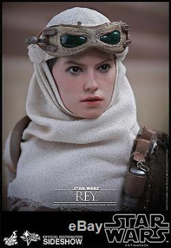 Hot Toys Star Wars The Force Awakens Rey & Bb-8 1/6 Scale Figure Set Sideshow