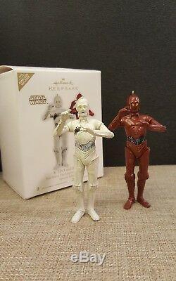 Hallmark Star Wars 2010 K-3PO R-3PO Ornament Comic-Con SDCC NYCC Limited Edition