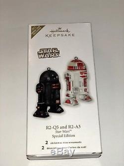 Hallmark Star Wars 2011 R2-Q5 R2-A3 Ornament Comic-Con NYCC SDCC Limited Edition