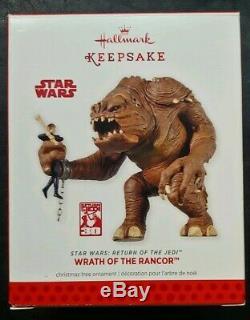 Hallmark Star Wars Ornament 2013 New York Comic Con Exclusive Rancor 1/1800