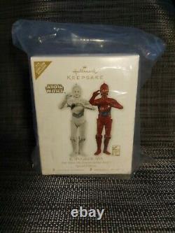 Hallmark Starwars 2010 K-3PO R-3PO Ornament Comic-Con SDCC NYCC Limited Edition