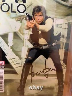 Han Solo #2 CGC 9.8 Signed by Harrison Ford Star Wars Signature Series Comic