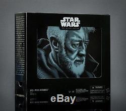 Hasbro Star Wars Black Series OBI-WAN KENOBI Pack 2016 SDCC COMIC CON Exclusive