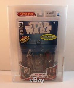 Hasbro Star Wars Comic 2-Packs Final Wave All 4 AFA U9.0 Montross Jarael EE Excl