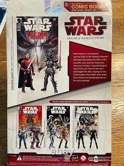 Hasbro Star Wars Comic Darth Krayt and Sigel Dare Action Figure