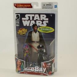 Hasbro Star Wars Comic Pack -DELIAH BLUE and DARTH NIHL Figures withComic NM BOX