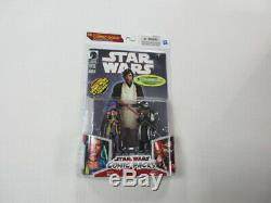 Hasbro Star Wars Comic Pack Deliah Blue & Darth Nihl Exclusive Figure Set Sealed