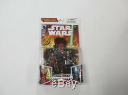 Hasbro Star Wars Comic Pack Qel-droma & Exar Kun Figure Set Sealed