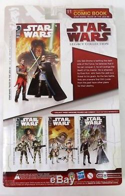 Hasbro Star Wars Comic Packs Qel-Droma Exar Kun 3.75 Figure Sealed