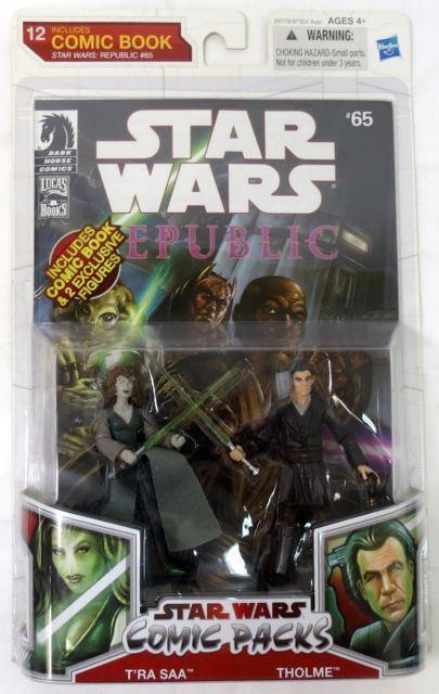 Hasbro Star Wars Comic Packs T'ra Saa Tholme 3.75 Figure Sealed