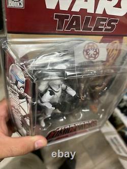 Hasbro Star Wars Comic Packs Tales Clone Commando + Super Battle Droid Misb 2007