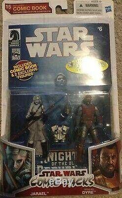 Hasbro Star Wars Jarael & Rolan Dyre comic pack Entertainment Earth exclusive