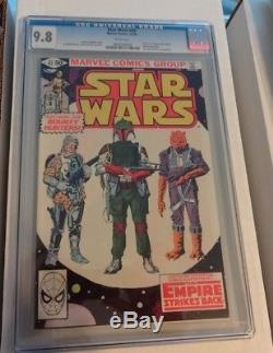 Highest Graded Star Wars Complete Set All Graded 9.8 #1 Through 107 Spectacular