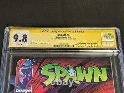 Image Comics Spawn 1 CGC 9.8 SS Todd McFarlane Signed 1992 1st Appearance
