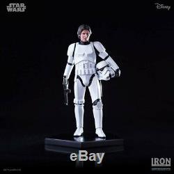 Iron Studios Han Solo Stormtrooper 110 Scale Figure Star Wars Statue Limited