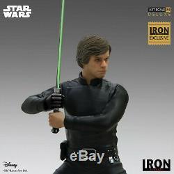 Iron Studios Luke Skywalker Deluxe Art Scale 1/10 Star Wars Event Exclusive