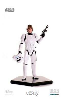 Iron Studios Luke Skywalker Stormtrooper 110 Scale Figure Star Wars Statue New