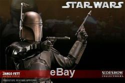 Jango Fett Bronze Statue Sideshow Star Wars Mandalorian #3 / 25 Boba Darth Vader