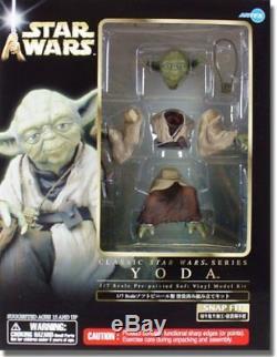Kotobukiya Artfx Star Wars Empire Strikes Back Yoda 1/7 Scale Vinyl Kit New